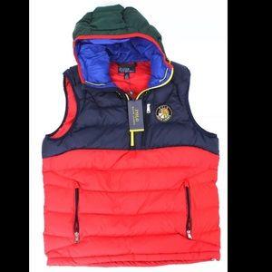 Polo Ralph Lauren Downhill Skier Down vest men xl
